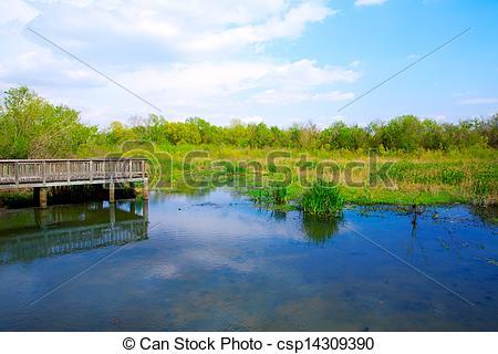 Stock Photographs of White Lake at Cullinan Park in sugarland.