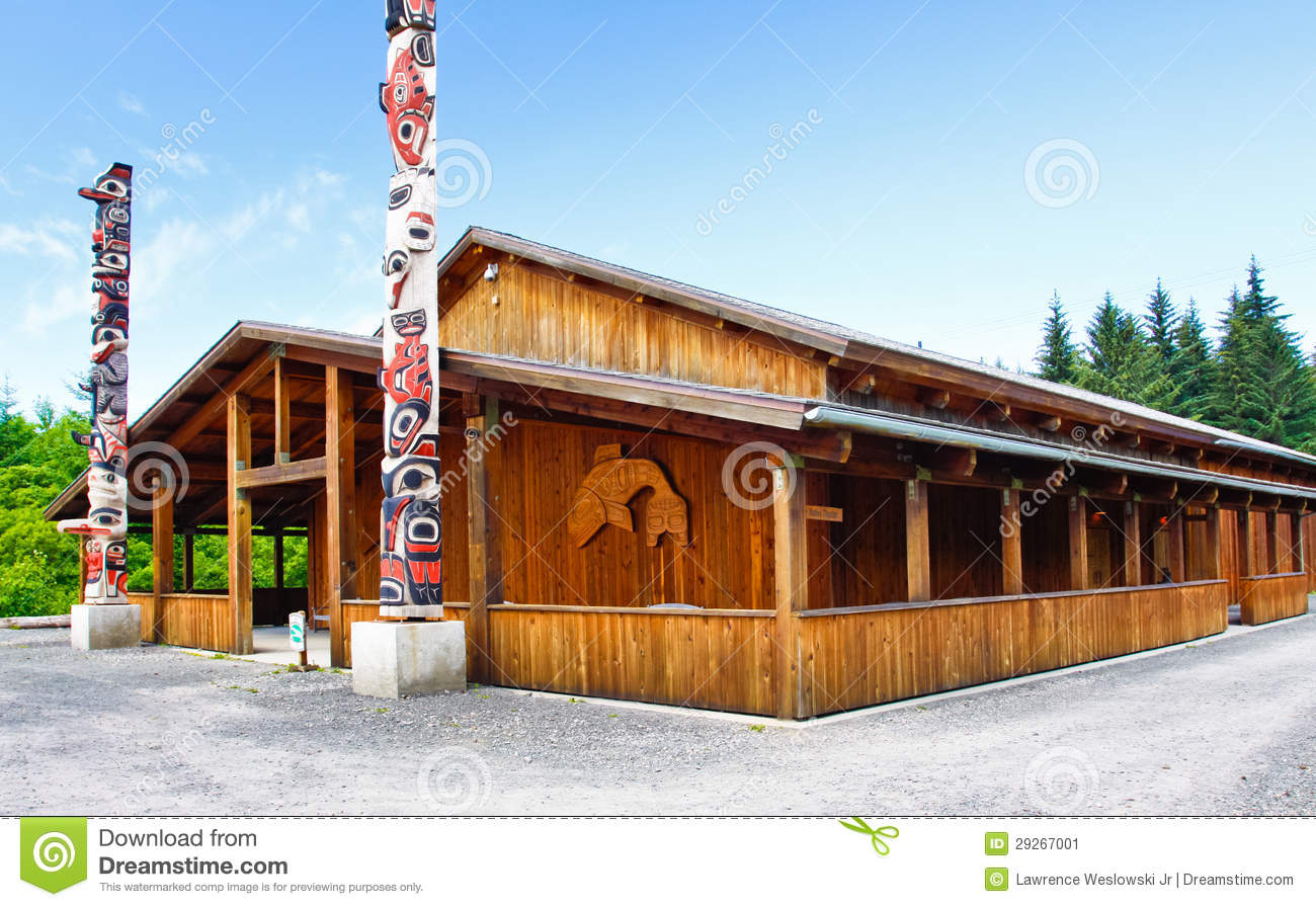Alaska Icy Strait Point Cultural Center Community House Editorial.