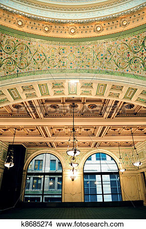 Stock Photo of Chicago Cultural Center i k8685274.