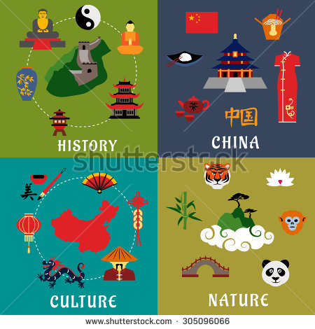 Chinese Culture Vectores, imágenes y arte vectorial en stock.