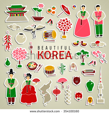 Korean Clothes Stock Vectors, Images & Vector Art.