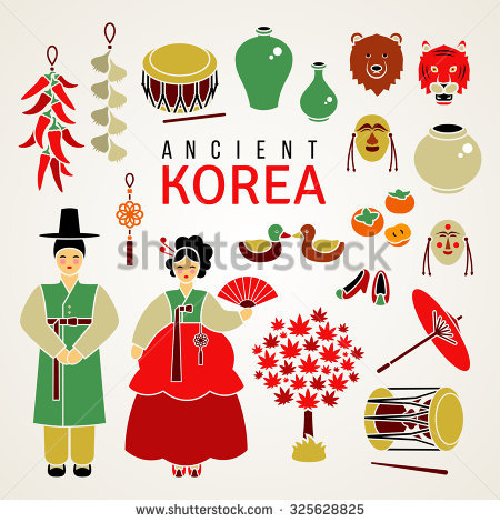 Korean Clothes Stock Vectors, Images & Vector Art.