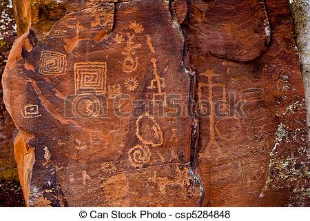 Pictures of Sinagua Petroglyphs.