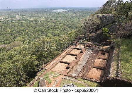 Stock Photo of Sigiriya, Cultural Triangle, Sri Lanka.