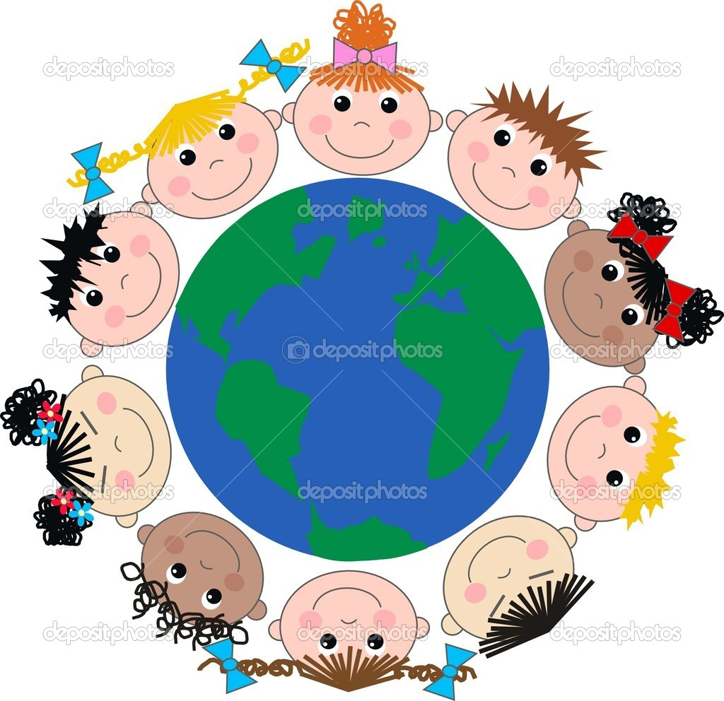 Cultural Diversity Blank Clipart.