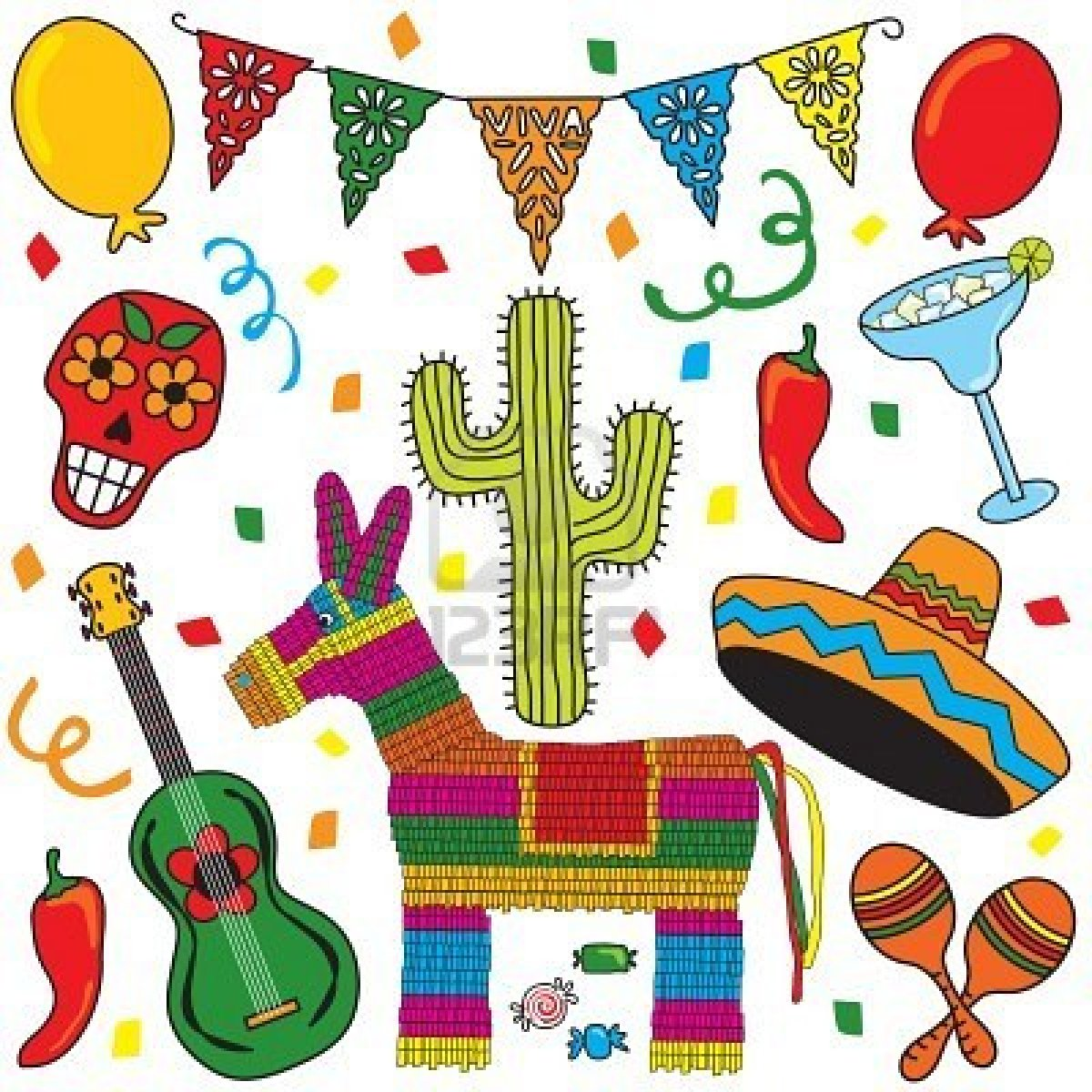 Latin Culture Clipart.