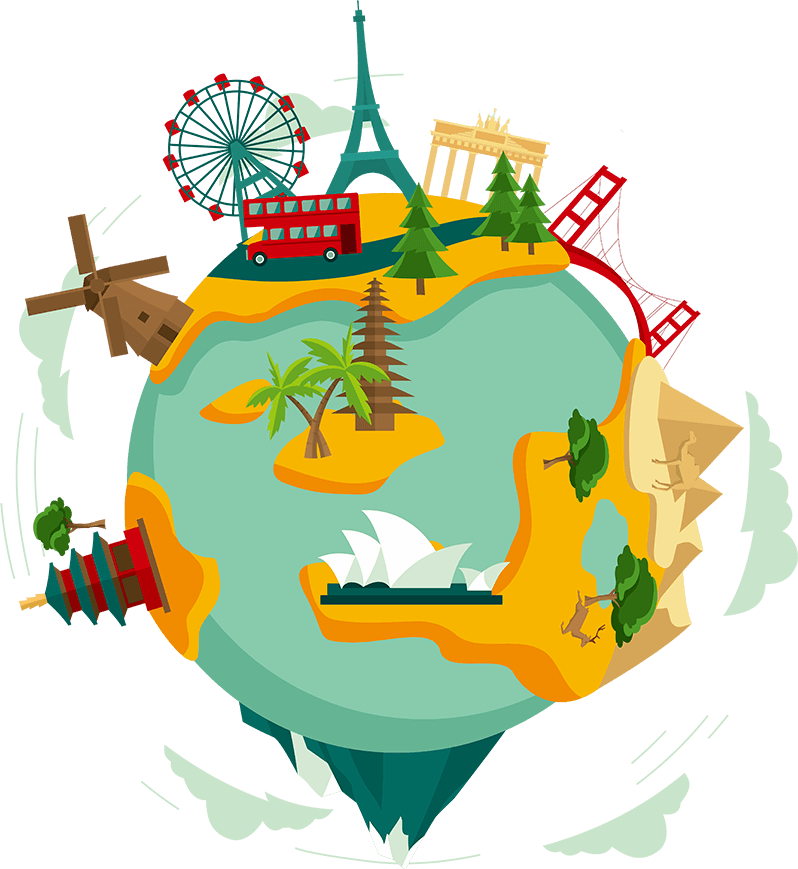 Travel Earth Culture Clip art.