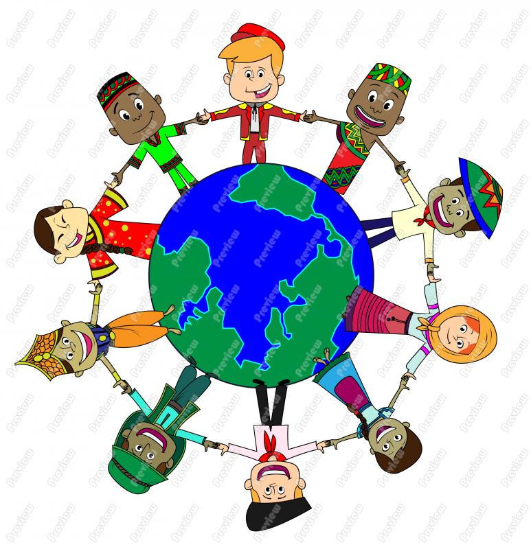 World cultures clipart.