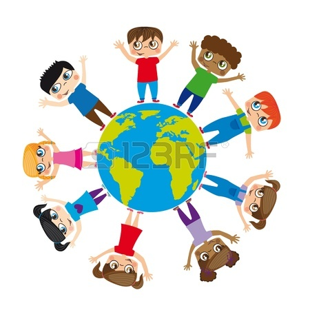 Cultures Around The World Clipart.