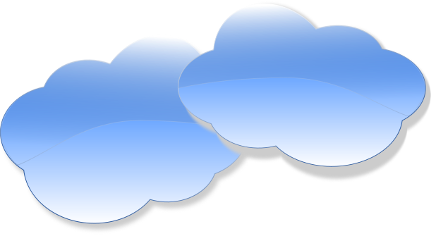 Free cloud clip art.