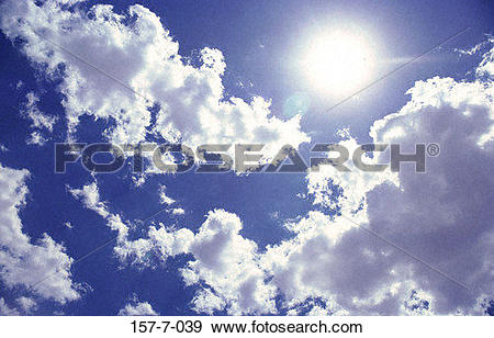 Stock Photograph of Heaven, Backgrounds, Weather, Blue, Atmosphere.