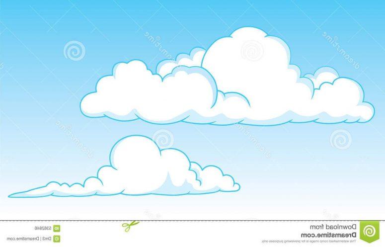 cumulus cloud clipart #8