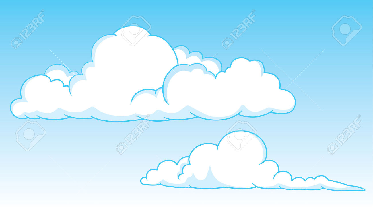 Cumulonimbus cloud clipart.
