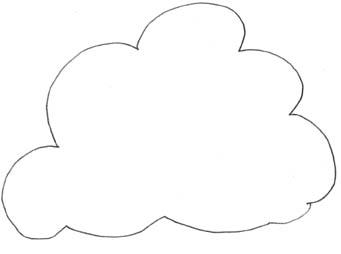 cumulus cloud coloring pages - photo#25