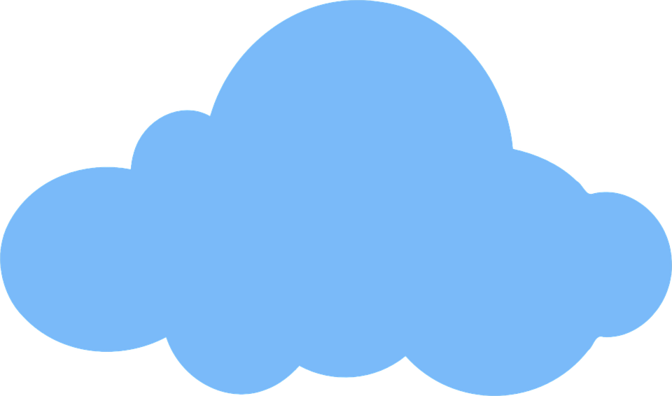 Free vector graphic: Cloud, Weather, Blue, Sky, Day.