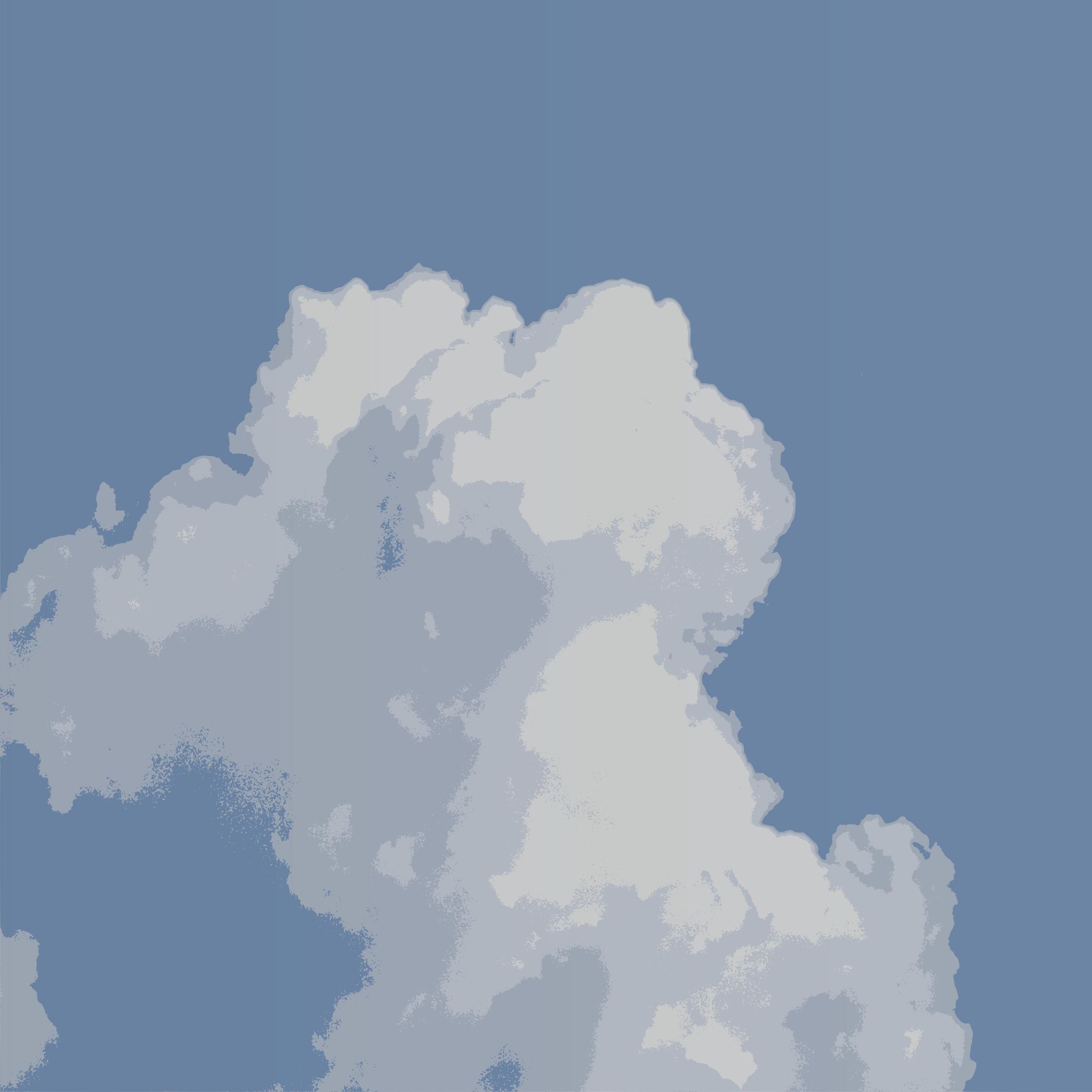 Cumulus mediocris clipart #7