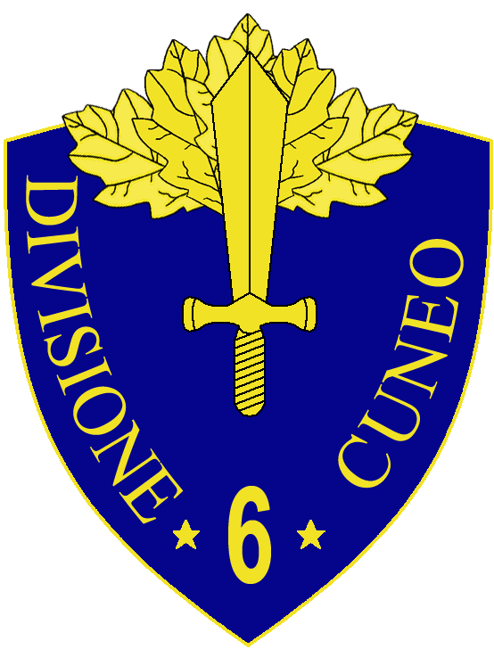 6th Infantry Division Cuneo.