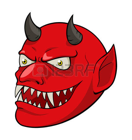 Cunning devil clipart #6
