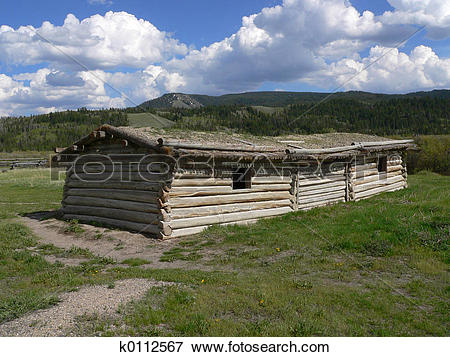 Picture of Cunningham Cabin, Flying U Ranch k0112567.