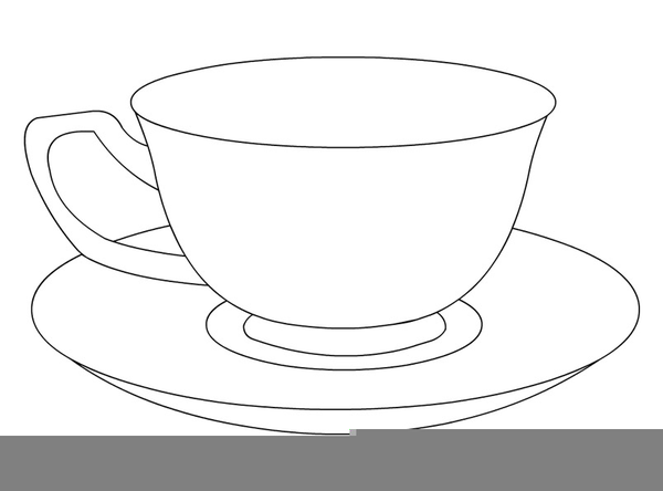 Teacup And Saucer Clipart Free.