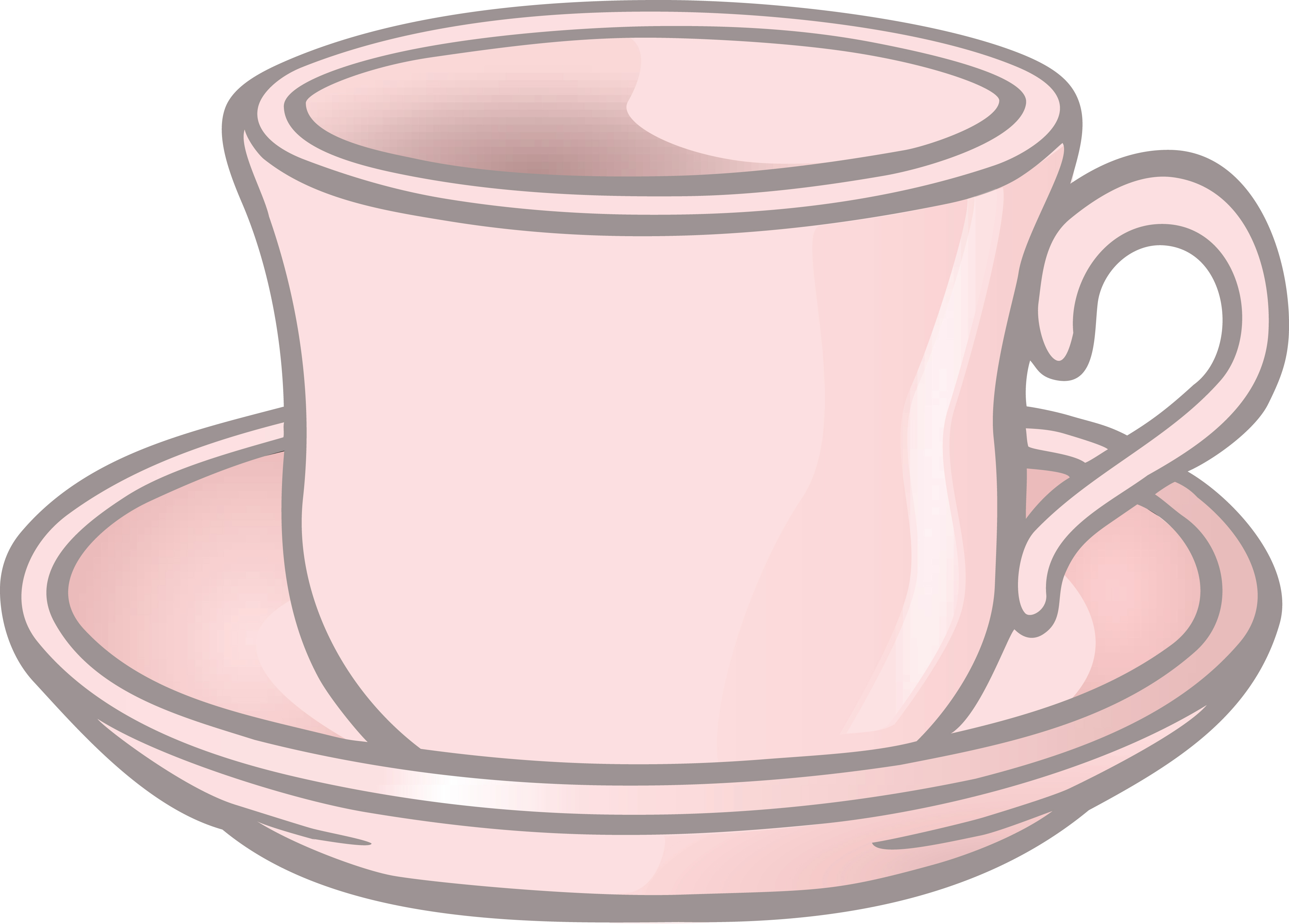 Free Clipart Of A cup of coffee and saucer » Clipart Station.