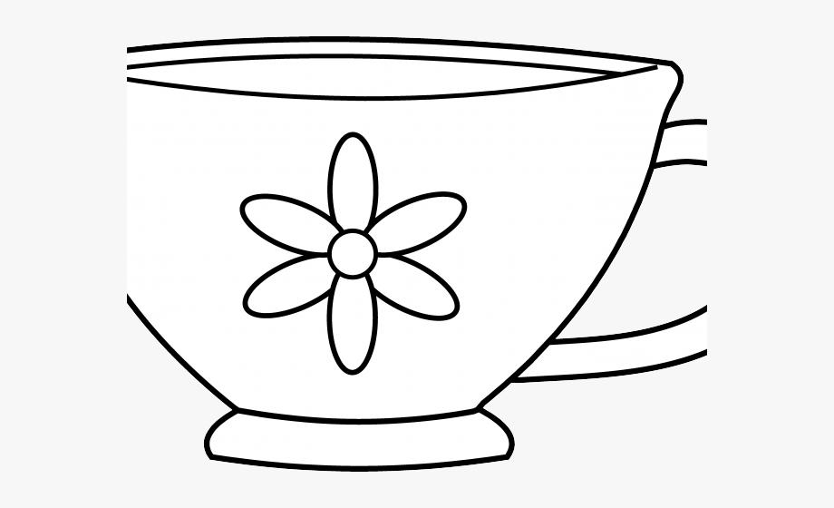 Drawn Tea Cup Clip Art.