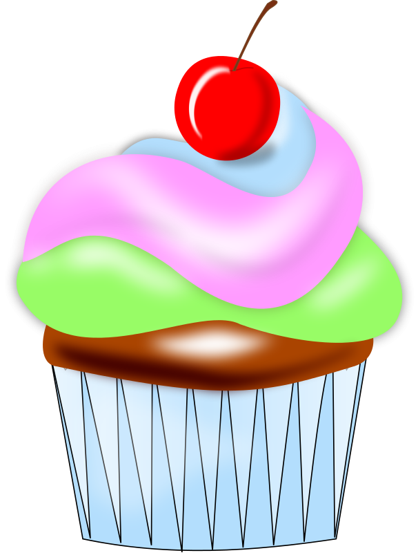 Free to Use & Public Domain Cupcake Clip Art.