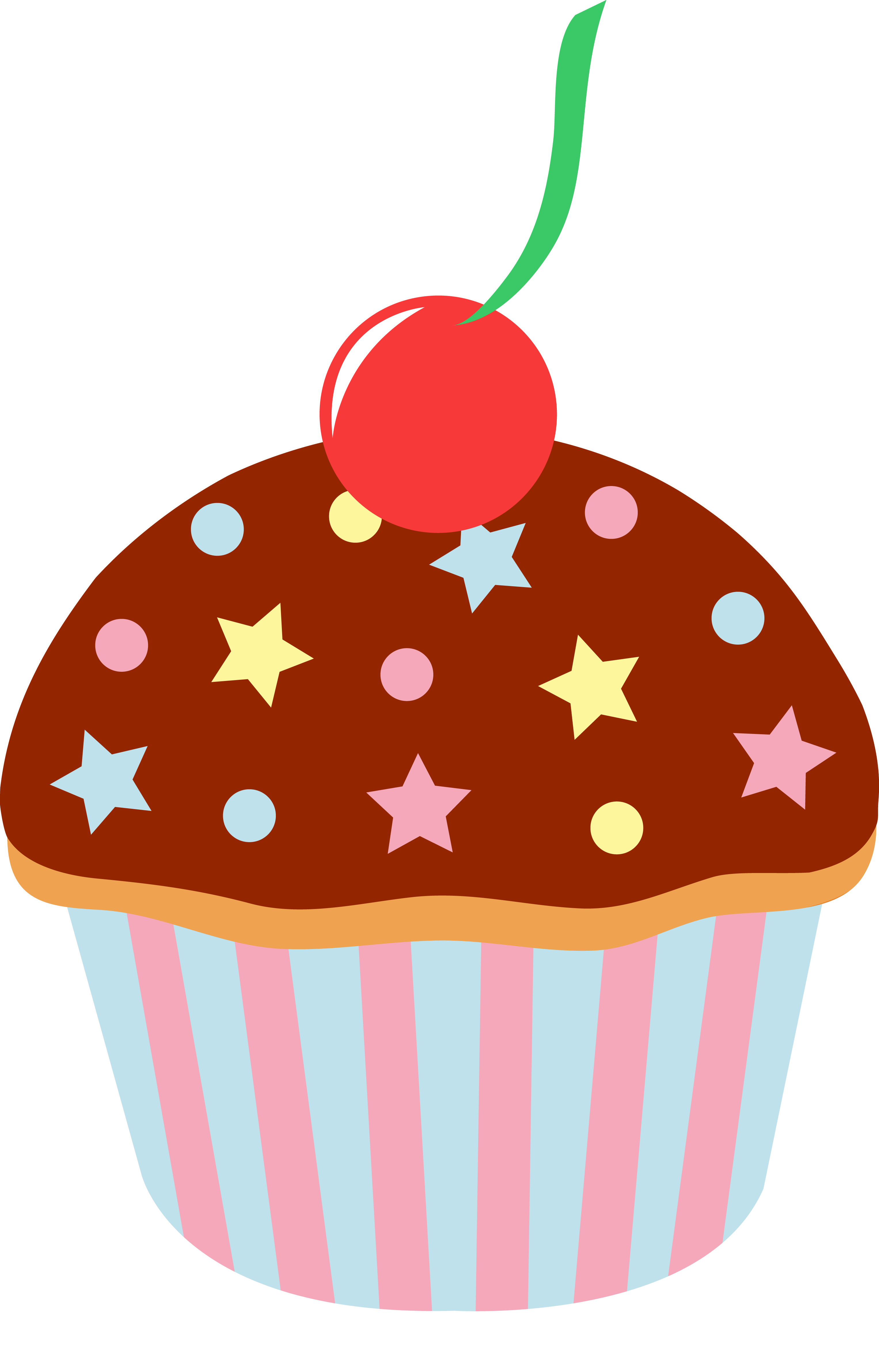 Free Cupcake Clip Art Pictures.
