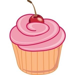 Cupcakes Clipart Border.