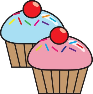 Cupcakes Clip Art Free.