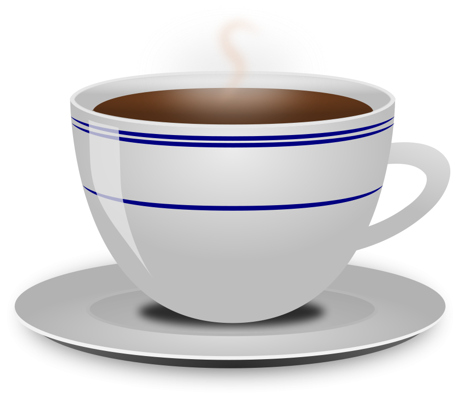 Big cup of coffee clipart.