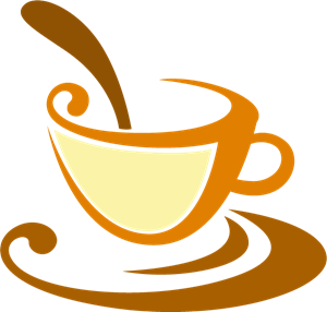 Tea Cups Logo Vector (.AI) Free Download.
