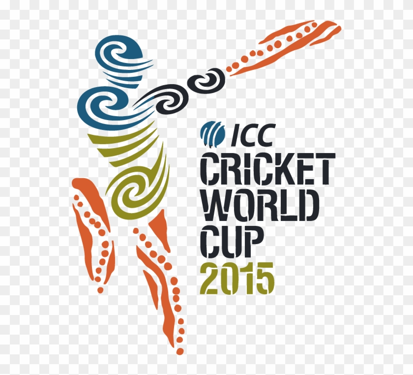 2015 Cricket World Cup Logo Vector.