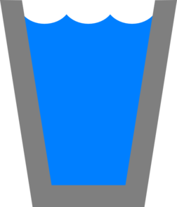 Water Cup Clipart.