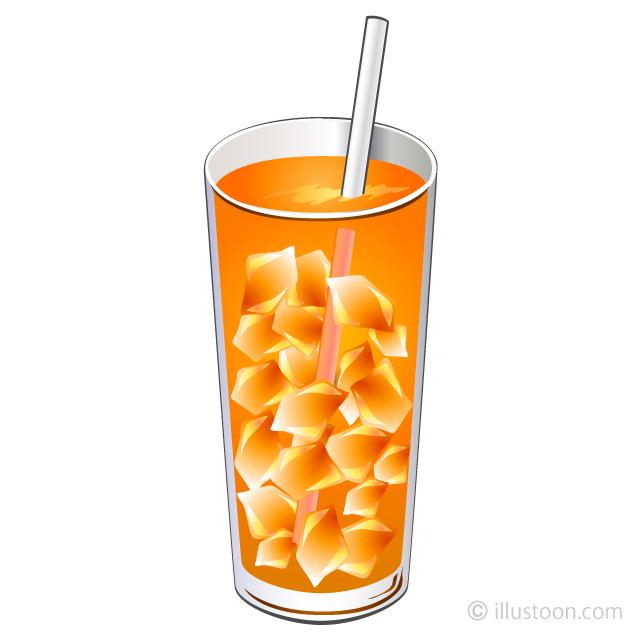 Free Orange Juice Clipart Image|Illustoon.