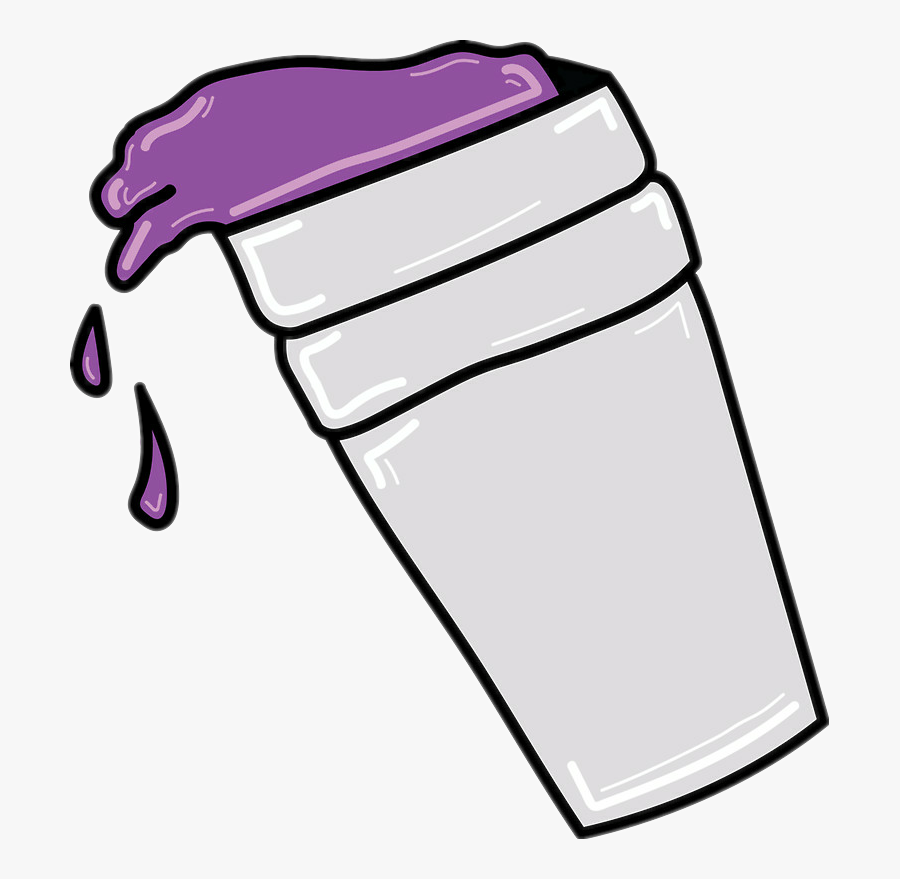 Purple Drank Drawing Cup.