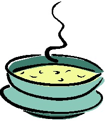 Cup of soup clipart kid.