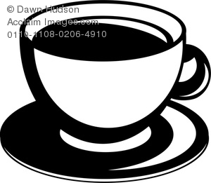 Clipart Image of A Cup Of Tea Or Coffee.