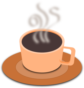 Fancy Teacup Clip Art.