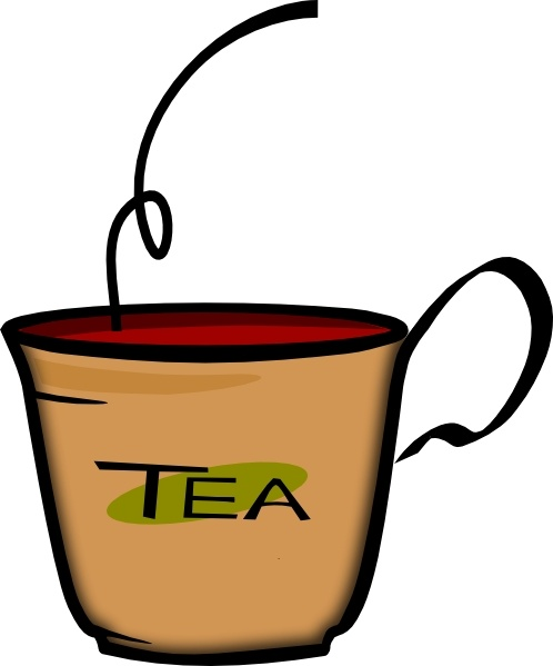 Printerkiller Cup Of Tea clip art Free vector in Open office.
