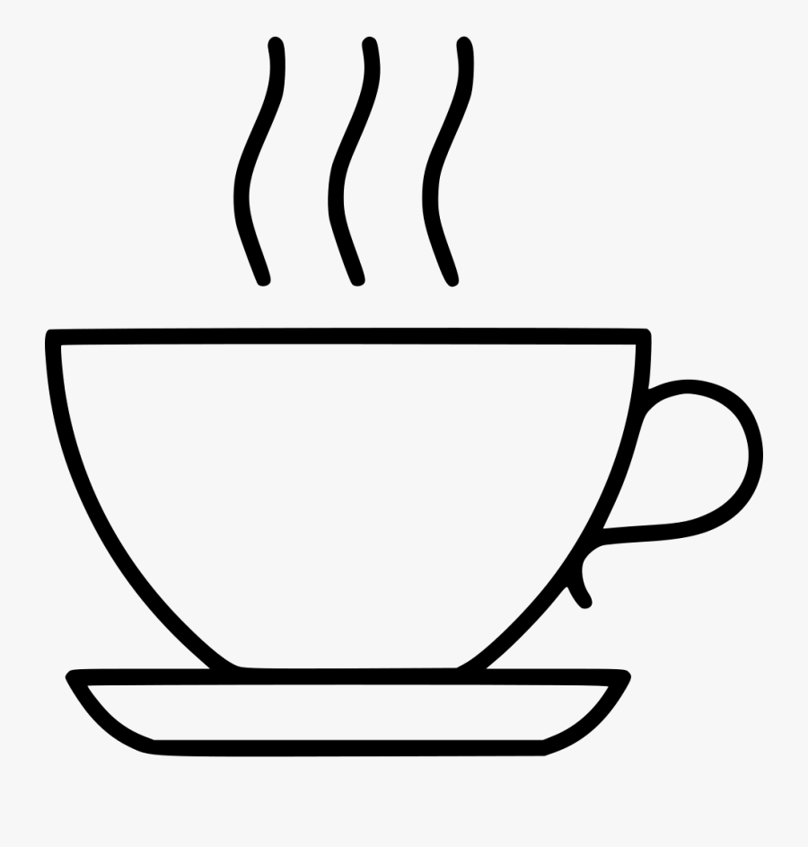 Transparent Tea Clipart Black And White.