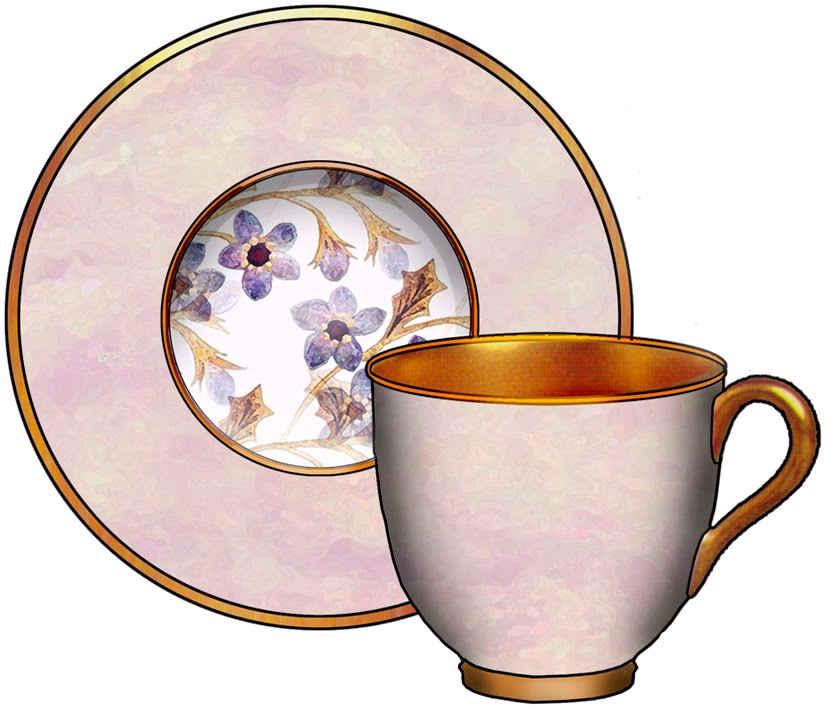Cup and Saucer Clip Art from.