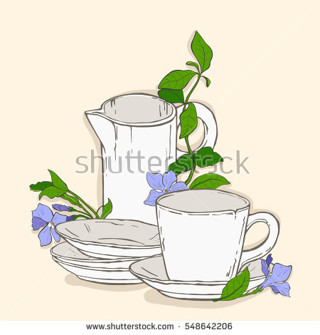 Cup shaped inflorescence clipart #17