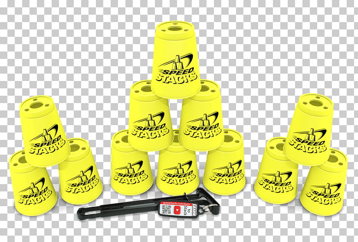 World Sport Stacking Association Cup StackMat timer, cup PNG.
