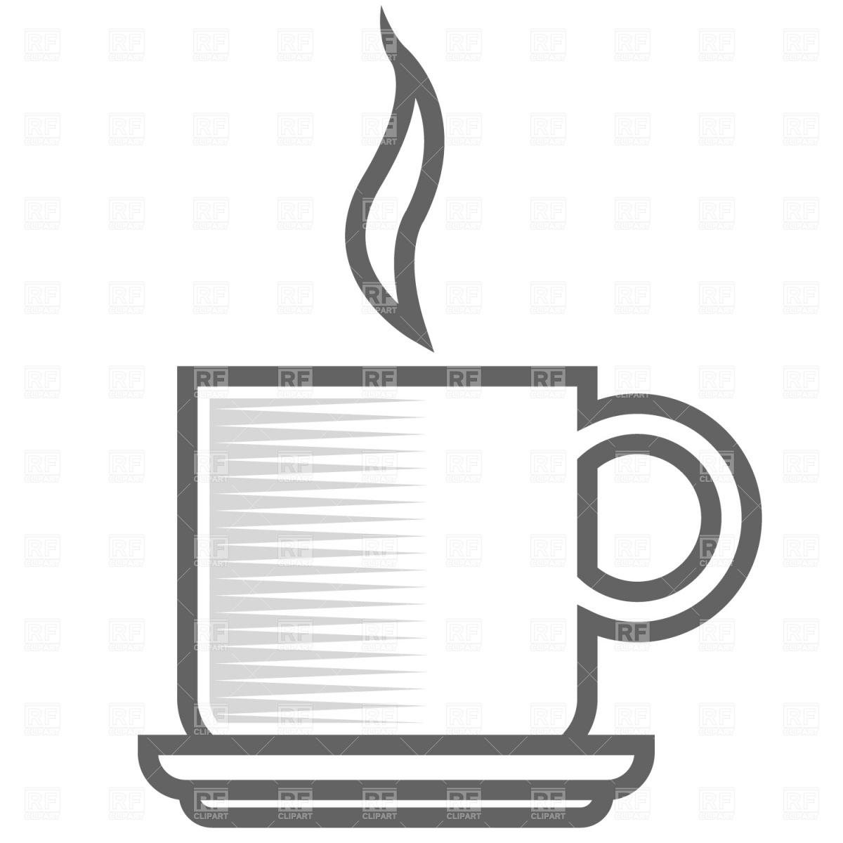 Coffee Cup Clipart Vector.