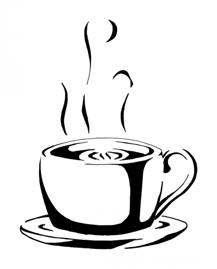 Coffee Cup Vector Clipart.