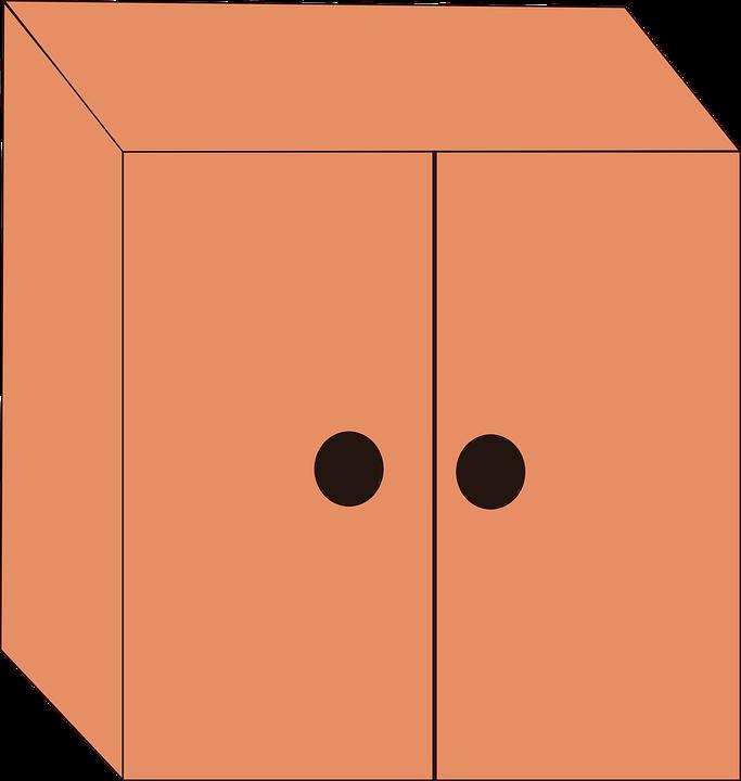 Kitchen Cabinet Clip Art: Cupboard Clipart