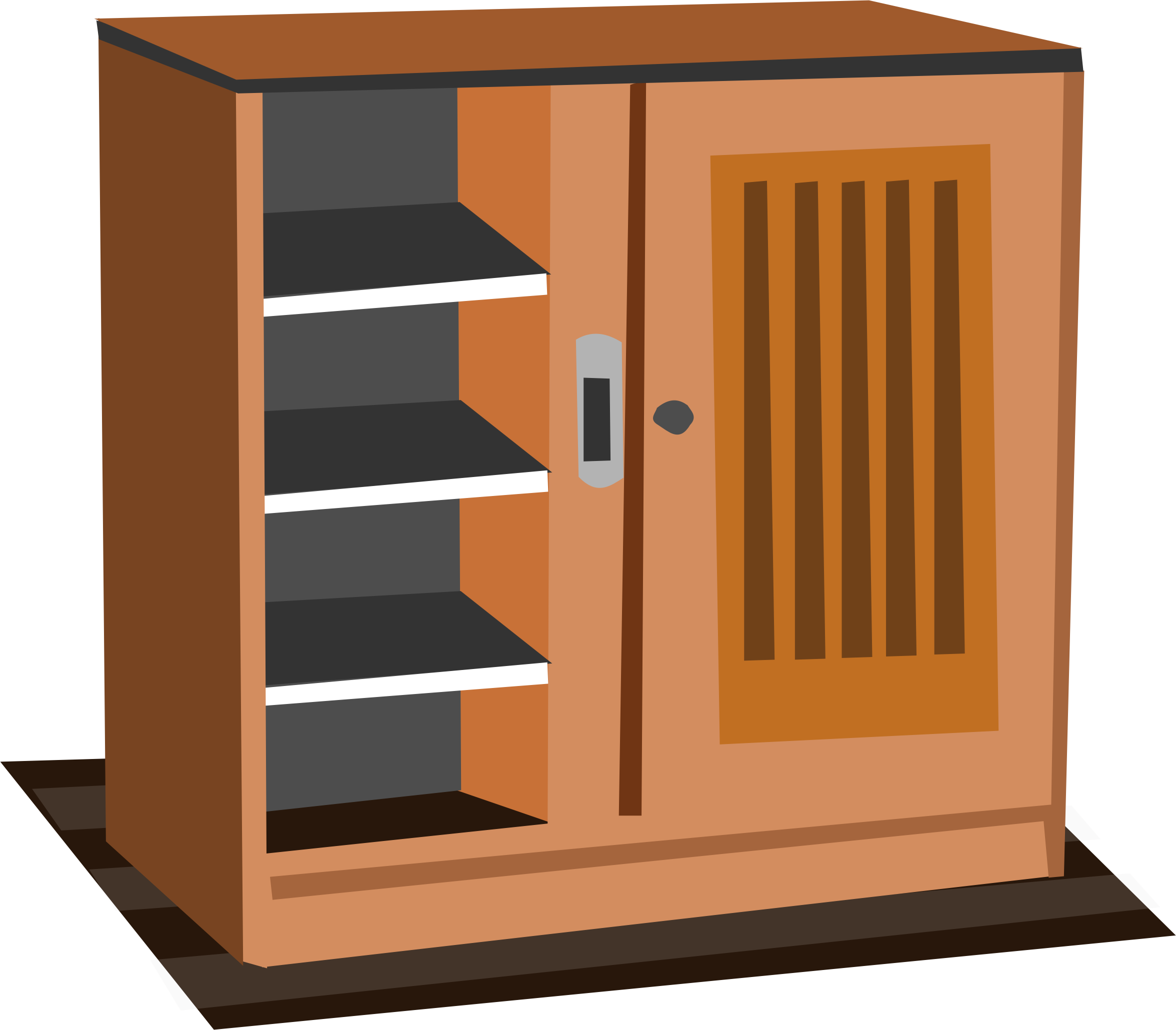 Kitchen Cabinet Clip Art: Cupboard Clipart No Copyright