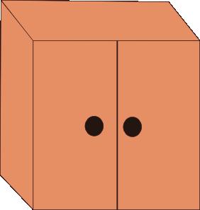 Cupboard Clipart.