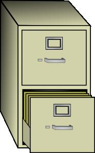 Metal File Cabinet Clip Art at Clker.com.